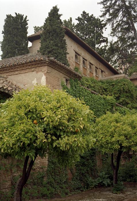 Generalife gardens at the alhambra granada spain for Generalife gardens